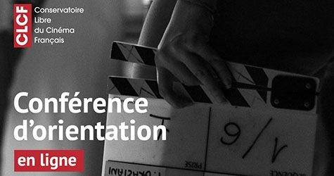 E-conférence d'orientation métiers du cinéma et de l'audiovisuel | Ecole de cinéma CLCF