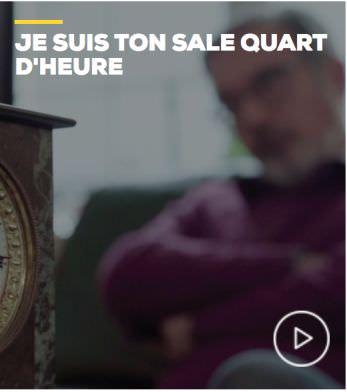 JE SUIS TON SALE QUART D'HEURE