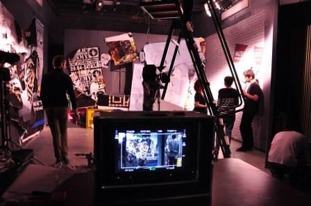 Tournage en 3ème année d'école de cinéma - Promotion 2013