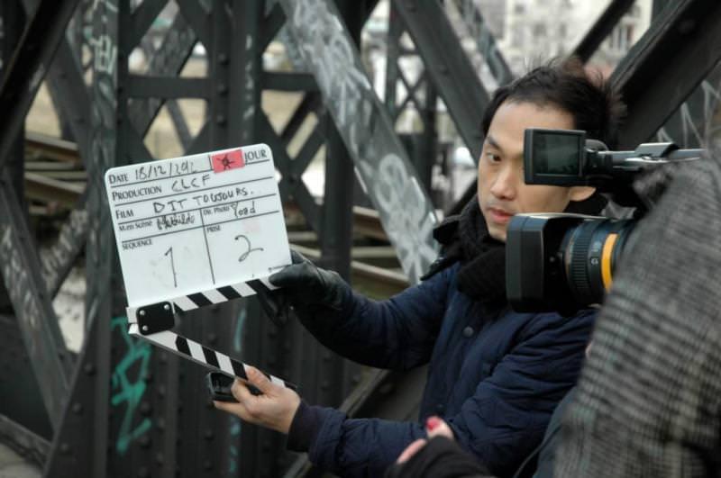 Tournage en 2ème année d'école de cinéma CLCF - Promotion 2014