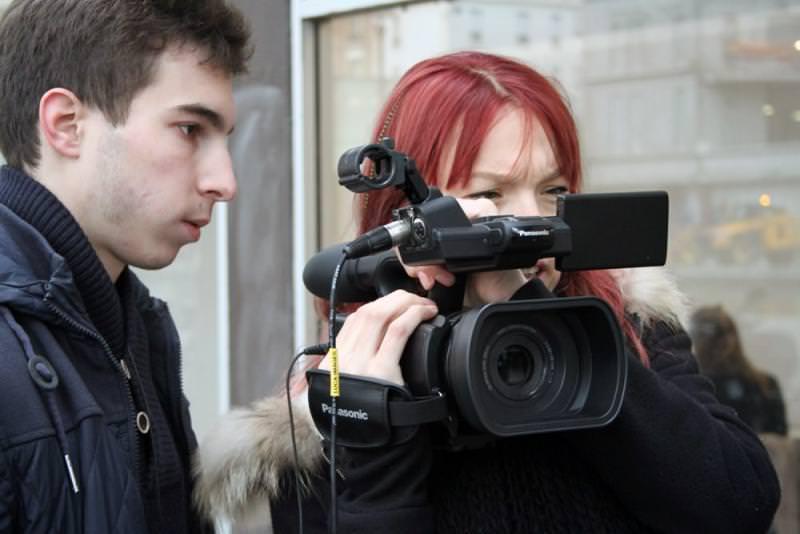 Tournage 2ème année d'école de cinéma - promo 2015
