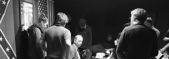Philippe Chevallier du duo d'humoristes Chevallier et Laspales au casting du film des étudiants de 3ème année