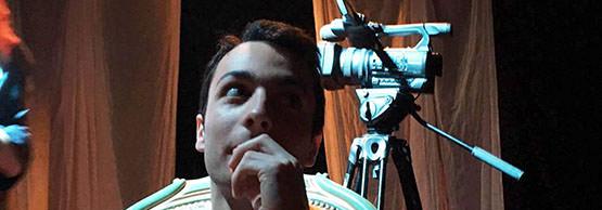 Nathan, étudiant en 2ème année, assistant metteur en scène
