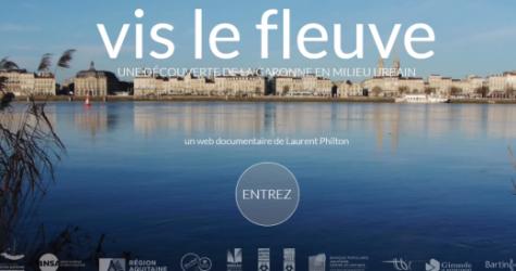 Bordeaux : un web documentaire sur la Garonne réalisé par Laurent Philton