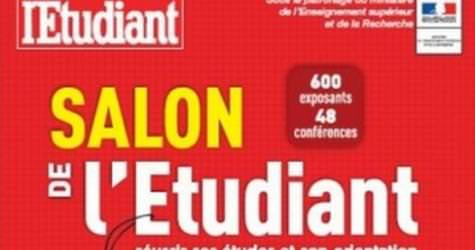 Retrouvez nous au stand a25 du salon de l 39 tudiant de paris for Salon job etudiant paris